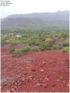 Near to Al-Barakani and Bani Hamaad, Taiz, Yemen بالقرب من منطقة بني حماد والبركاني, تعز, اليمن | By: Gamal Alkirshi 05/06/2014