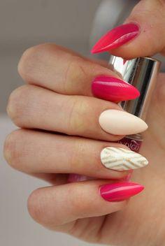 Gel Brush Eleganza + Pink a Colada Gel Polish + ombre Arte Brillane.