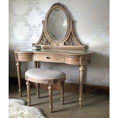 Antoinette Oak Dressing Table