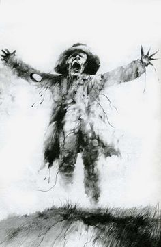 Stephen Gammell, from Scary Stories