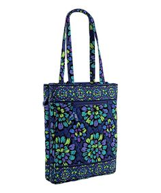 Take a look at this Indigo Pop Laptop Travel Tote on zulily today!
