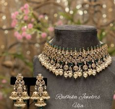 Silver Jewellery Indian, Indian Wedding Jewelry, Gold Jewellery, Beaded Jewelry, Jewelery, Trendy Jewelry, Ethnic Jewelry, Modern Jewelry, Fashion Jewelry