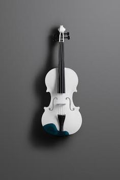 This 3D Printed Violin is Perfect!!! Love the white  finish. http://bigdealhq.com/best-electric-guitar-beginners
