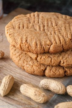 Go a head, try and eat just one regular sized cookie. It's impossible. Well, I've fixed your dilemma–make the cookies GIGANTIC and you will have no problem satisfying yourself wit…