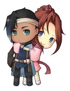 Anime Couple Cuddling Chibi Wallpapers | Img Need | Anime ...