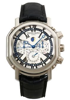 Daniel Roth Perpetual Calendar Chronograph Men's Watch 379-Y-60-192-CN-BD