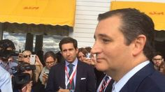 .Ted Cruz in Michigan: 'If you see a candidate that Washington embraces, run and hide'   #TCOT