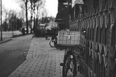 pink basket bike, by Christof S on 500px