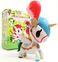 "Tokidoki Unicorno Series 4 CAN CAN 3"" Vinyl Figure / Shipping $1 Each Extra Item 