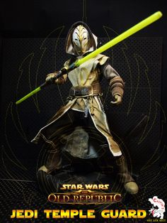 Calvin's Custom One Sixth Starwars the old republic JEDI TEMPLE GUARD figure - star-wars Photo