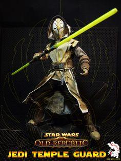 Calvin's Custom One Sixth Starwars the old republic JEDI TEMPLE GUARD figure - star-wars Photo