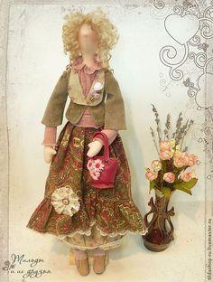 Купить Кукла тильда: Полина (тильда Бохо) - тильда, кукла Тильда, тильды, куклы тильды ☆