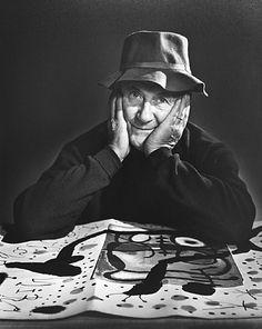 Joan Miro by Yousuf Karsh  1965