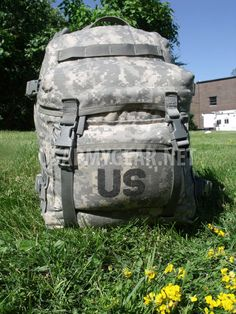 42d2d614d1 US Army Military Issue Digital ACU Assault 3 Days Molle Back Pack Ruck Sack  GI