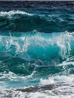 Sea And Ocean, Ocean Beach, The Sea, Beach Images, Ocean Photos, Ocean Wallpaper, Sea Waves, Water Waves, Foto Art