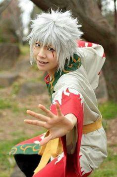 Young #Jiraiya cosplay | young jiraiya by uzumaki-san98