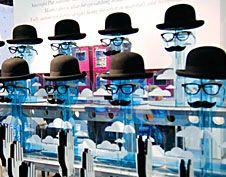 #Movember Eyewear Displays or Just for Men! Optical Displays; pinned by Ton van der Veer