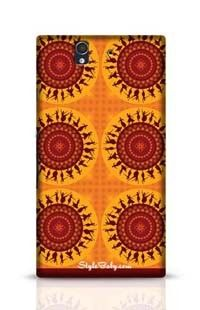 Illustration Of Indian Classical Dancer Sony Xperia Z Phone Case
