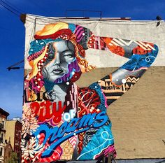#streetart #newyork #tristaneaton #bigcitydreams