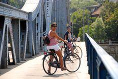 Biking in Cracóvia