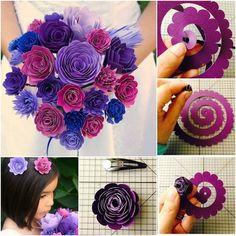 Imagen de diy and flowers