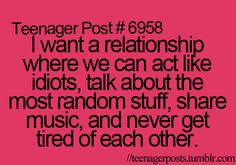 I have that with some people