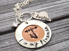 Hey, I found this really awesome Etsy listing at https://www.etsy.com/listing/207075651/lineman-necklace-lineman-wife-telephone