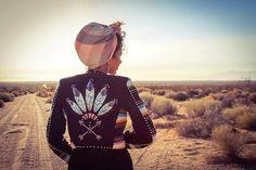 Silberne Königin Concho Jacket  Jahrgang südwestlichen von RockinB
