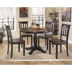 D58015B in by Ashley Furniture in Livingston, LA - Round Dining Room Table Base