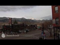 Timelapse of clouds cruising over then enveloping Pikes Peak.  From the office window.  |  BombBomb Video Email Marketing Software: www.BombBomb.com