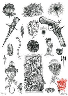flash tattoo #3 - ELOBO