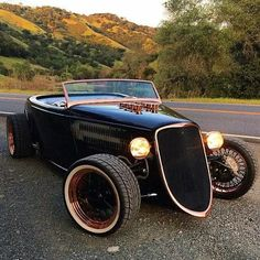 Hot Rods, Classic Hot Rod, Classic Cars, Classic Auto, Vintage Cars, Antique Cars, Ford Roadster, Us Cars, Exotic Cars