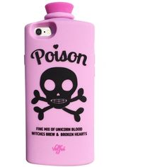 Poison 3D iPhone 6/6S Case (Lavender) by Valfre ❤ liked on Polyvore featuring accessories, tech accessories and phone