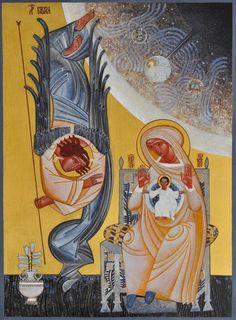Annunciation by Lyuba Yatskiv