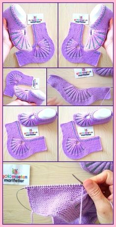 Crochet Ideas For Slippers, Boots And Socks - Diy Rustics, Hausschuhe unterhalten Crochet Ideas For Slippers, Boots And Socks - Diy Rustics, Diy Crochet Projects, Diy Crafts Crochet, Crochet Ideas, Diy Projects, Unique Crochet, Modern Crochet, Crochet Boots, Knit Crochet, Knitting Socks
