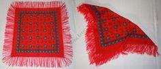 Šátek s třásněmi 004 | Kroje.cz