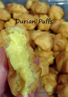 Durian Puff recipe
