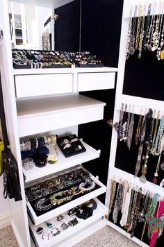 Organizando as bijoux! | Fashionismo | Thereza Chammas