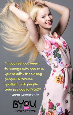 #FlashbackFriday to Dove Cameron in our #BeYourself issue; available for digital download on the BYOU Magazine App!