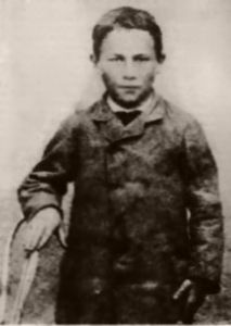 Joseph Meister was born on February 1876 and died on June 16, 1940.    In 1885, when he was 9 years old, he was bitten by a rabid dog. Louis Pasteur treated him with the rabies vaccine which he had prepared by growing rabies virus in rabbits, weakening them afterwards through drying. He had experimented successfully with this vaccine on dogs. He treated Joseph Meister with this vaccine and treatment was an historical success.
