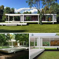 Home Design Drawings Ludwig Mies van der Rohe - Farnsworth House Stairs Architecture, Amazing Architecture, Architecture Details, Residential Architecture, Casa Farnsworth, Farnsworth House Plan, Traditional Home Decorating, Neoclassical Interior, Ludwig Mies Van Der Rohe