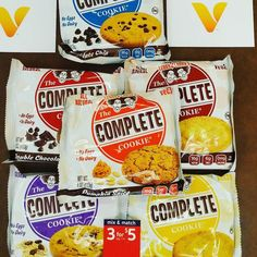3 for $5 @vitaminshoppe go pick yours up today #fitfam #naturalbodybuilding #fitgoals #fitnessmotivation #fitgirlsnation #fitgirlsworldwide #fitgirlsmotivate #fitgirls_inspire #fitgirl #fitdudes #fitguys #fitguysworldwide #lifestyle #lennyandlarrys  #cleancookie #proteincookies #ambassador #fitfam #fitspo #goodeats #vegancookies #Gains #fitfamily #eatgood #vitaminshoppe #plantprotein by wadelonnie3