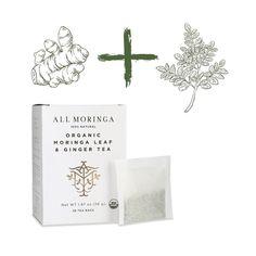 Organic Moringa Ginger Tea $9.9⠀ 0 ADDITIVES, 0 SUGAR, 0 CALORIES. Our quality moringa is 100% vegan, gluten-free, Non-GMO and completely caffeine-free!⠀ .⠀ .⠀ .⠀ .⠀ .⠀ #moringatea #organictea #organicmoringatea #organicminttea #organicgingertea⠀ #moringaminttea #moringagingertea #moringabenefit #moringabenefits #moringaplant #moringa #moringaleaves #moringatree #moringausa #moringaleaf⠀ #moringaginger #moringagingertea #moringaoleifera #allmoringatree #herbalsupplements #antioxidants… Moringa Benefits, Moringa Leaves, Mint Tea, Ginger Tea, Caffeine, Gluten Free, Place Card Holders, Organic, Sugar