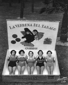 Miss Cigar Queens, 1937 ~ Strange Vintage Beauty Pageants