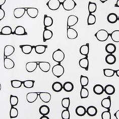 Cotton Glasses - Cotton - white