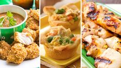 Don't play chicken with snack time cravings. Avoid the hangries with these deliciously snackable dishes.