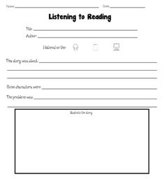 Worksheets Independent Reading Worksheets a well activities and other on pinterest 34 pages of printables for reading responses both fiction nonfiction books some