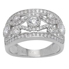 "<li>Cubic zirconia ring</li><li>Sterling silver jewelry</li><li><a href=""http://www.overstock.com/downloads/pdf/2010_RingSizing.pdf""><span class=""links"">Click here for ring sizing guide</span></a></li>"