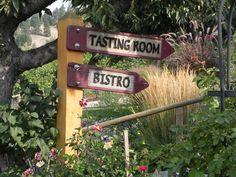 Hillside winery Naramatta bench