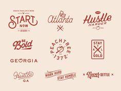 Atlanta by Brendan Prince #Design Popular #Dribbble #shots
